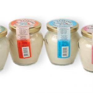 Crème de fromage de brebis à la truffe - 200 gr.